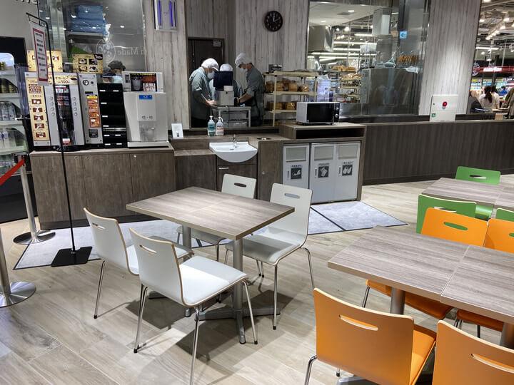スーパーマーケット「サミットストア桜木町コレットマーレ店」のサミcafe写真