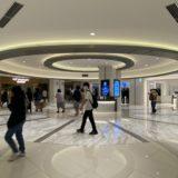 横浜駅の新しい映画館Tジョイ横浜のロビー写真